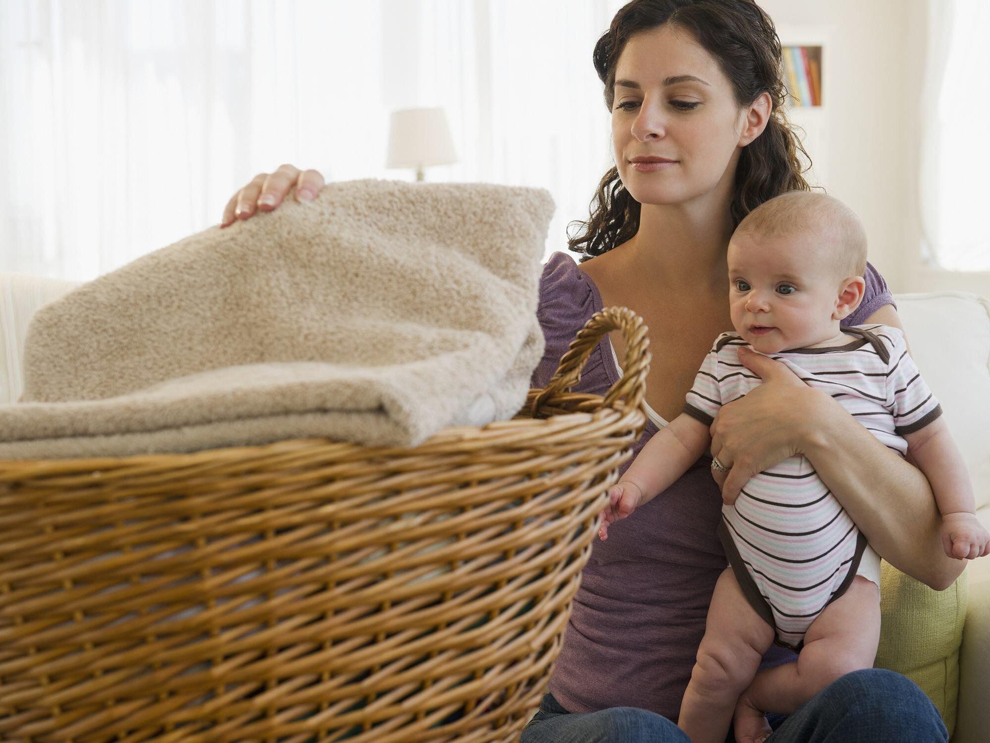 Lựa chọn các bột, nước giặt thành phần tự nhiên dịu nhẹ cho trẻ