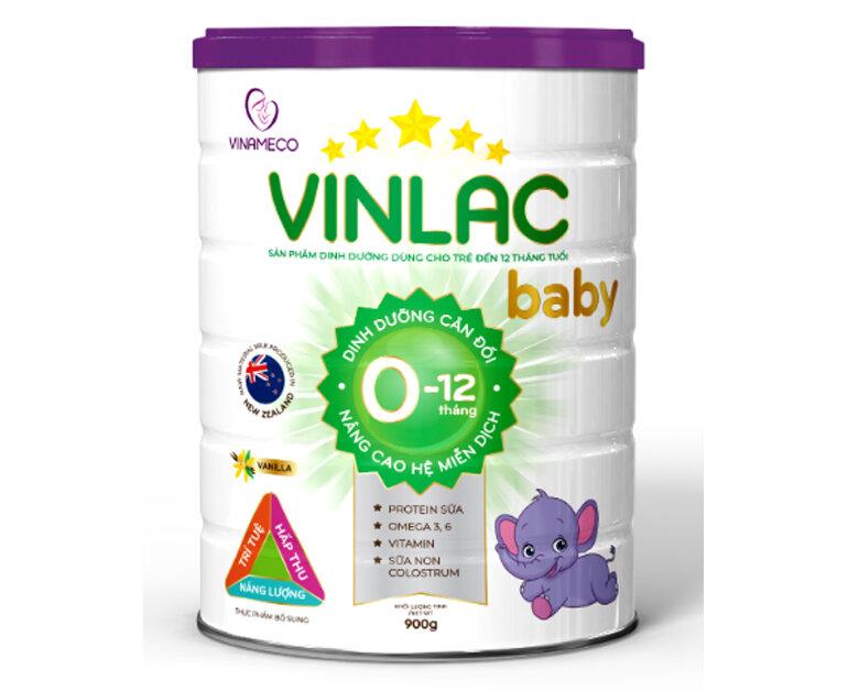 Sữa Vinlac Baby - sản phẩm dinh dưỡng cho bé từ 0 - 12 tháng tuổi