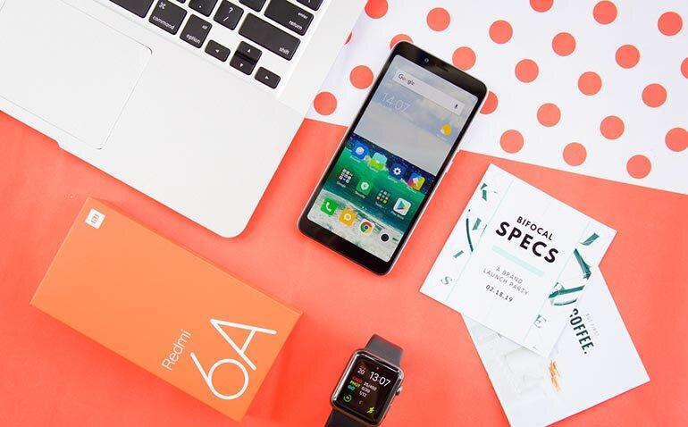 Điện thoại Xiaomi Redmi 6A giá tốt thiết kế đẹp