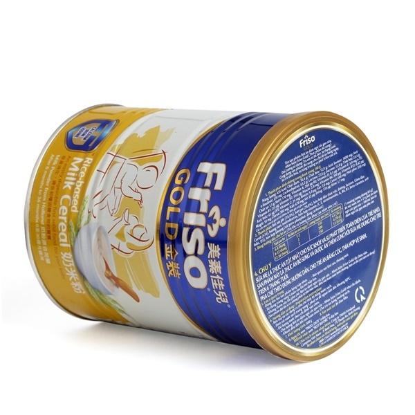 bột ăn dặm Friso trên thị trường hiện nay khoảng từ 100.000 – 130.000 VNĐ/lon 300g
