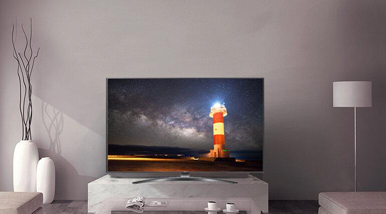 Smart Tivi LG 4K 55 inch 55UM7600PTA màn hình 55 inch