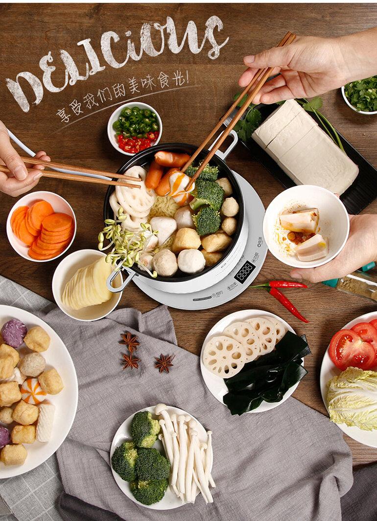 Nồi lẩu hấp Ranbem sẽ mang đến cho bạn những bữa ăn thơm ngon, đầy dinh dưỡng (Nguồn: ranbem.com)