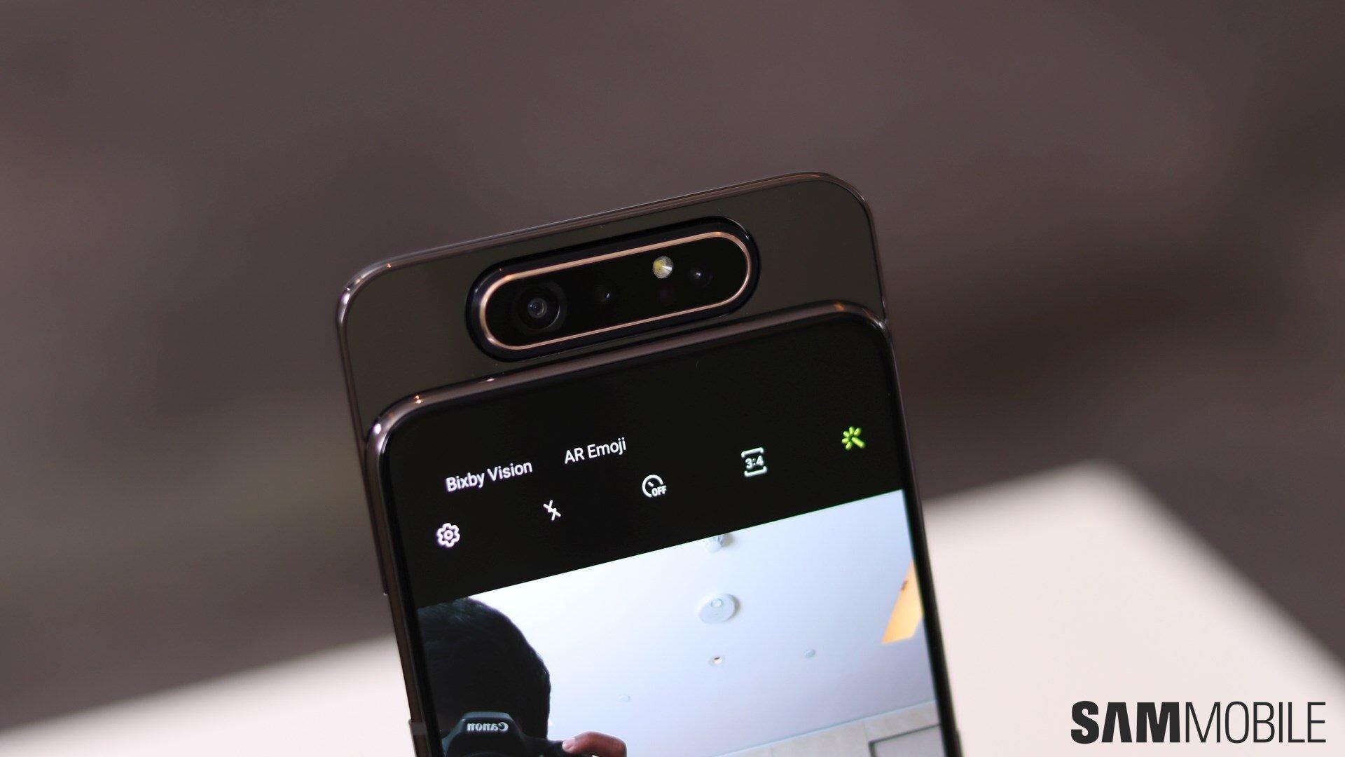 Camera được giấu kín của Samsung Galaxy A80