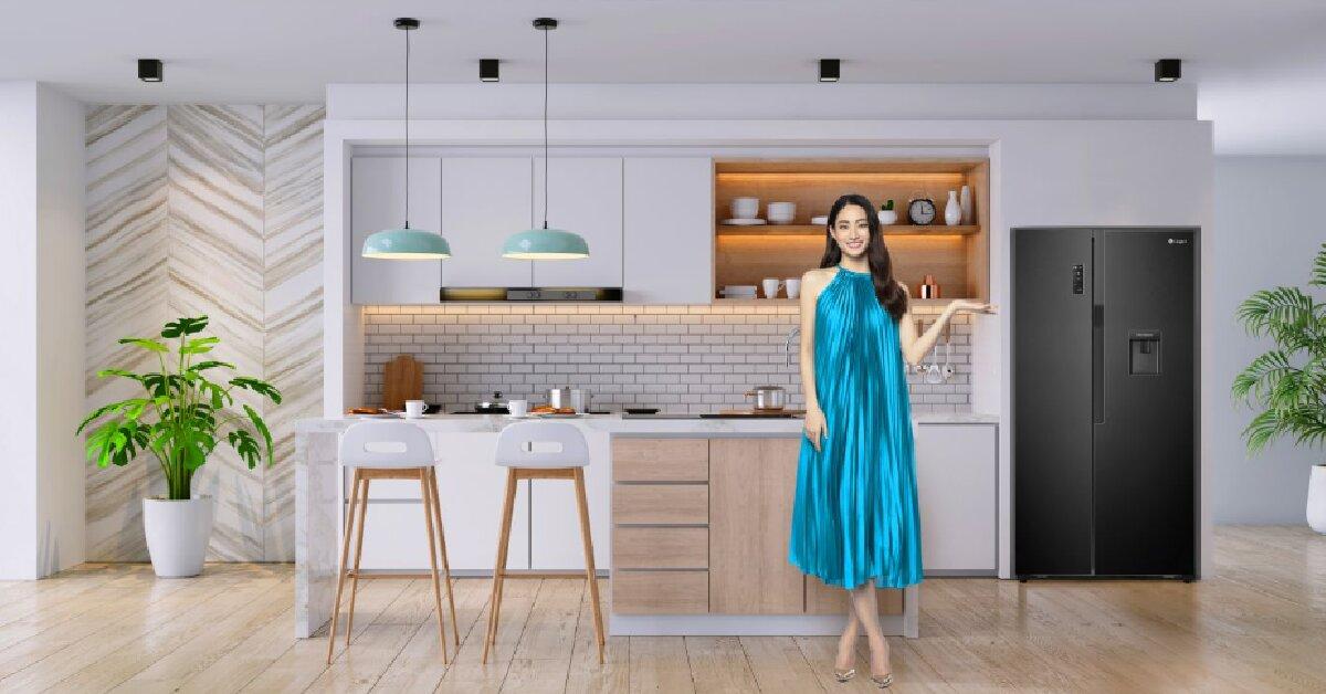 Đánh giá tủ lạnh Casper Side by Side inverter RS-575VBW 551 lít có tốt không? Nên mua không?