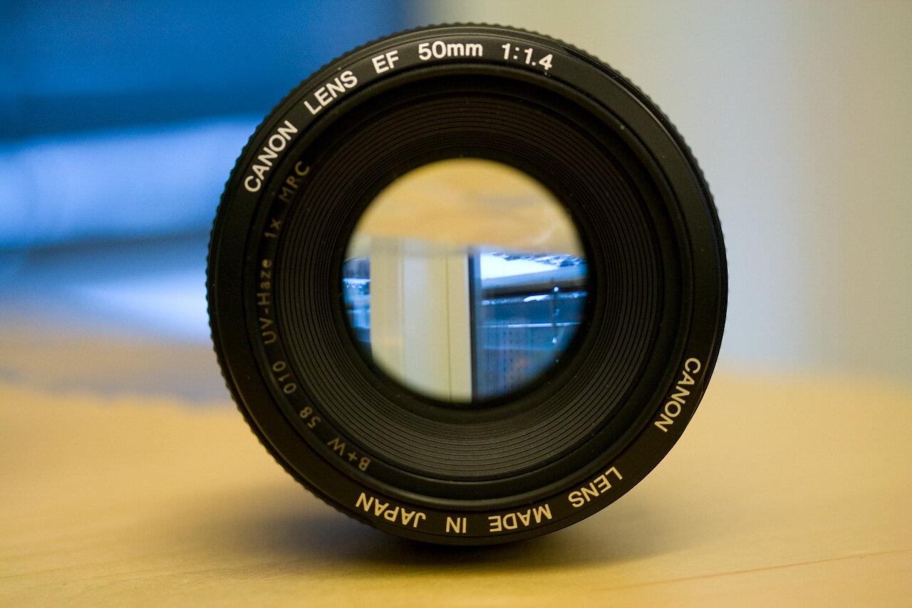 Ống kính tiêu cự cố định 50mm