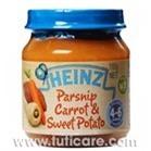 Thức ăn dặm củ cải, cà rốt, khoai lang Heinz 110g (dành cho trẻ từ 4-6 tháng tuổi)
