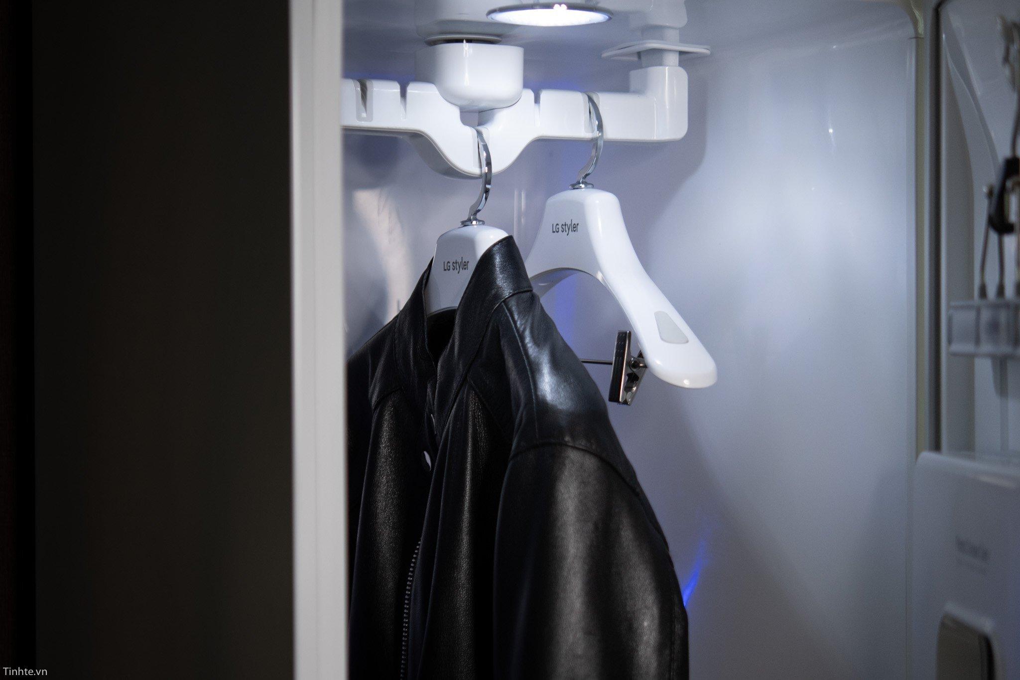 Lưu ý khi sử dụng tủ quần áo thông minh LG Styler