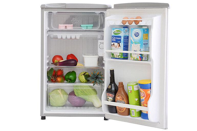 Tủ lạnh dưới 2 triệu của Sanyo với dung tích 90l.