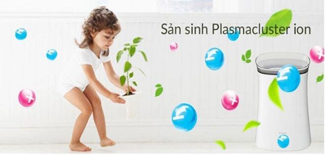 Công nghệ Plasmacluter Ion chỉ có trên các sản phẩm của Sharp