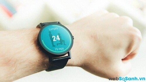 Ứng dụng VimoFit Android Wear Fitness. Nguồn Internet
