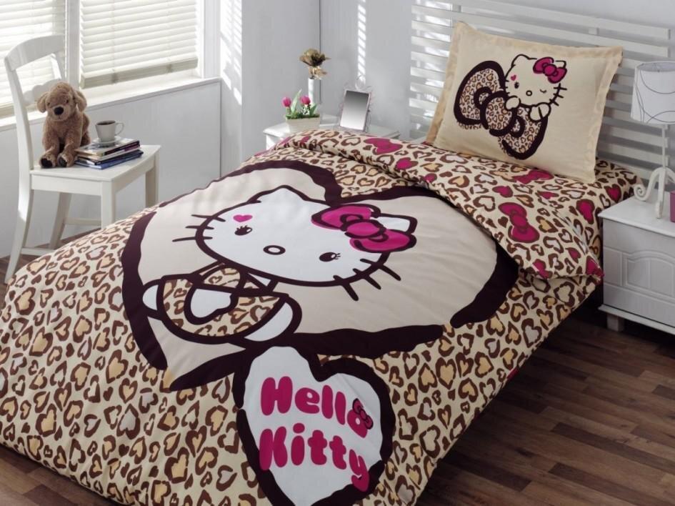 Mẫu chăn ga gối đệm họa tiết Hello Kitty số 5
