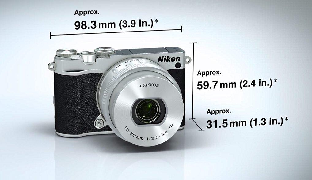 Máy ảnh không gương lật tốt nhất Nikon 1 J5