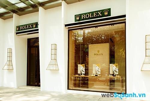 Hiện tại Việt Nam chỉ có 4 điểm bán đồng hồ Rolex được Rolex Thụy Sĩ ủy nhiệm