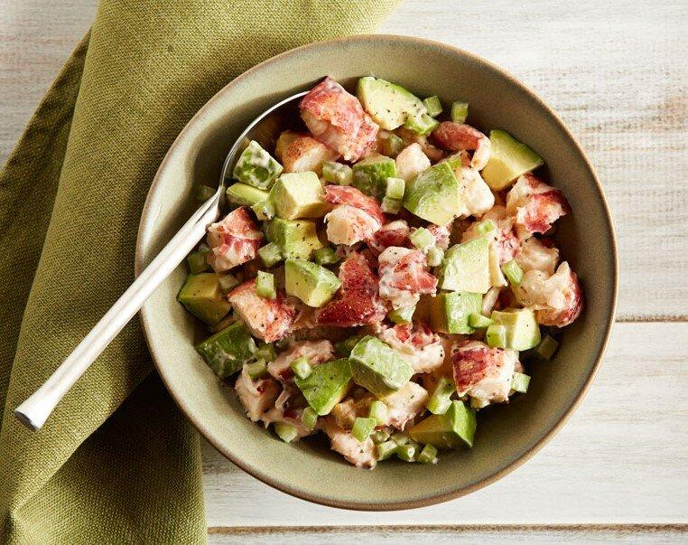 Salad tôm hùm lạ miệng cho bữa cơm cuối tuần