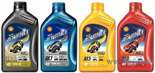 Giá dầu nhớt Shell Advance