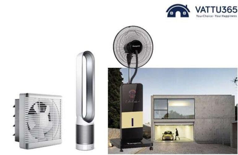 Chiếc quạt điện cơ thông dụng được nhiều người yêu thích được bán tại vattu365.com