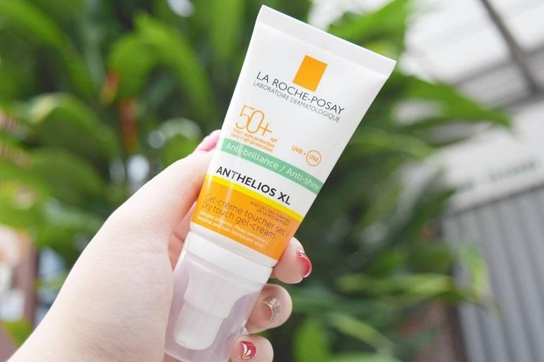 Kem chống nắng La roche posay cho da dầu Anthelios XL SPF 50+Dry touch gel-cream Anti-shine