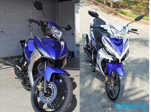 Yamaha Exciter 150 trông hầm hố hơn hẳn so với Yamaha Exciter 135