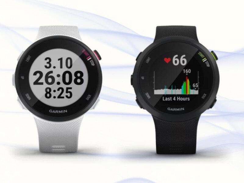 Đồng hồ thông minh Garmin Forerunner 45 sở hữu thiết kế trẻ trung, đẹp mắt