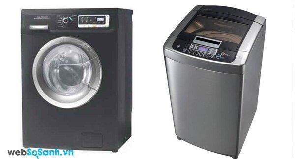 Electrolux EWF10831G và LG WFD1617DD (nguồn: internet)