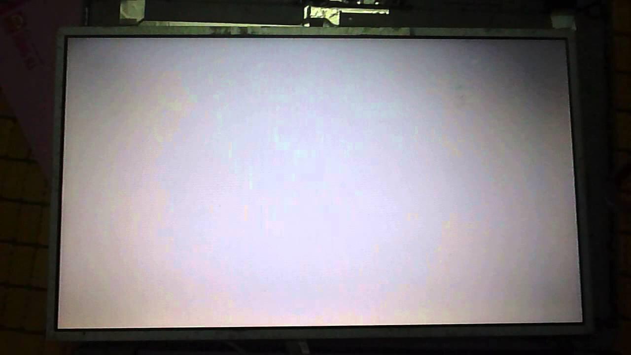 Tivi bị trắng và không có hình