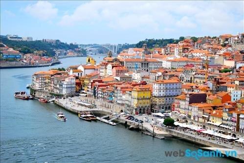 Thành phố vừa cổ kính vừa hiện đại nằm bên bờ biển Rio Douro