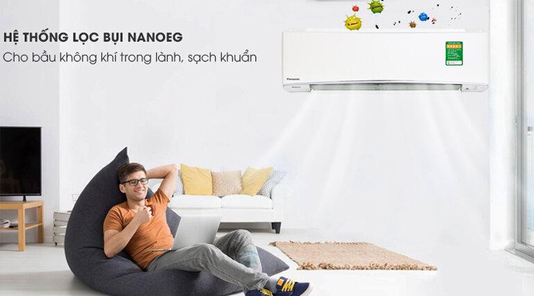 Điều hòa Panasonic Inverter 1 HP CU/CS-XU9UKH-8