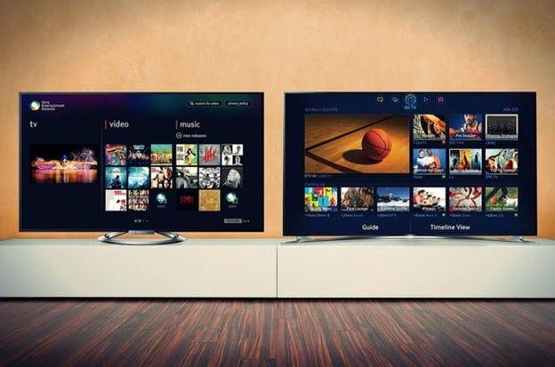 Hai thương hiệu tivi cao cấp được nhiều người tiêu dùng ưa chuộng