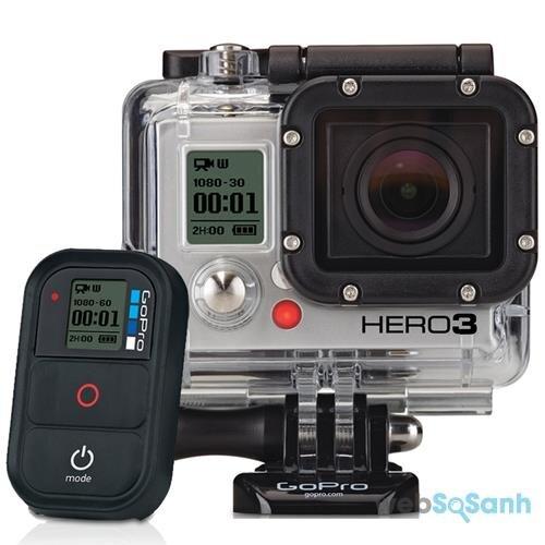 Camera hành trình GoPro 3 có kết nối Wifi nhưng ngoại hình không được bắt mắt
