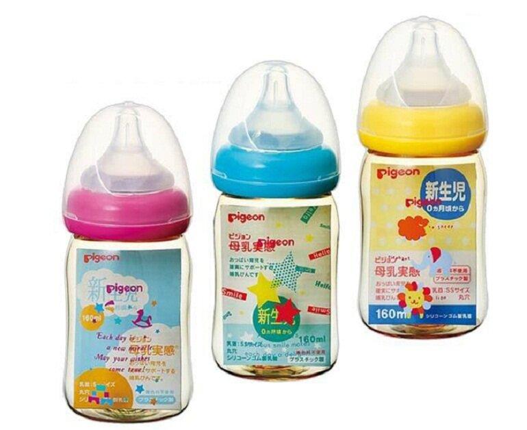 Bình sữa Pigeon nội địa Nhật dung tích 160ml