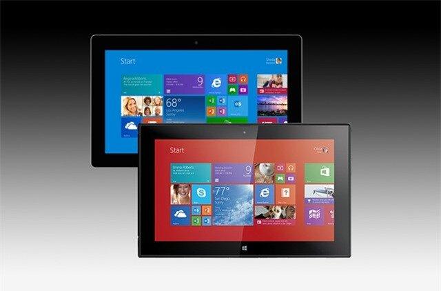 Màn hình Surface 2 hiển thị màu thiếu chính xác, độ sáng kém hơn Lumia 2520