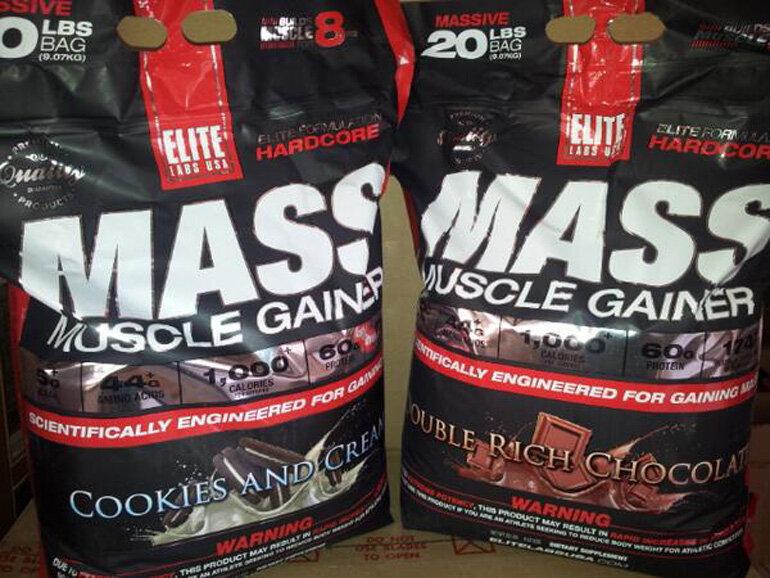 Sữa tăng cân Mass Muscle Gainer tốt không?