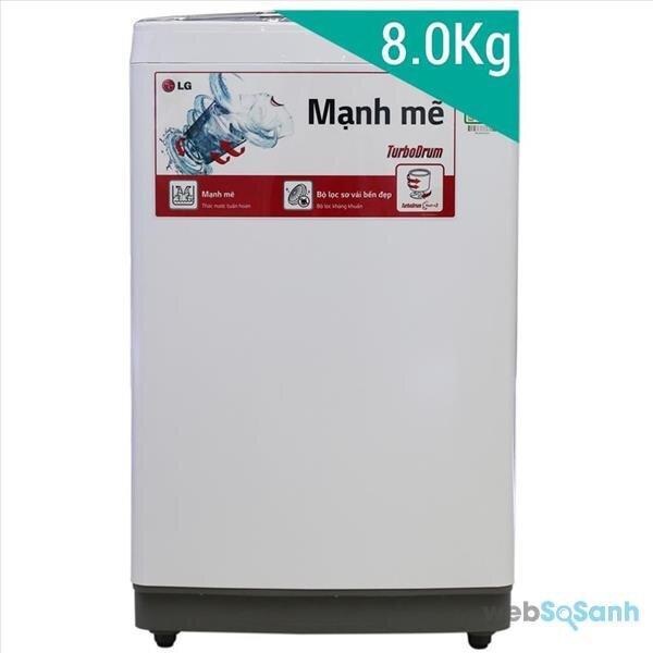 máy giặt lồng đứng 8kg 4 triệu đồng