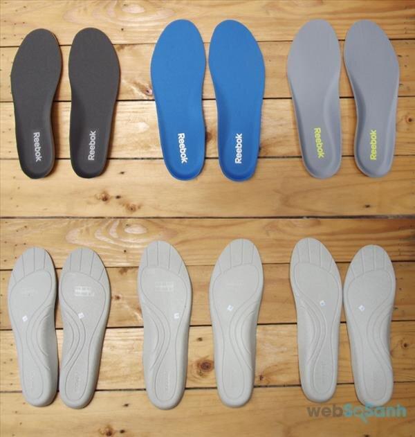 lựa chọn miếng lót giày phù hợp