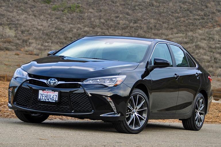 Mẫu thiết kế của Toyota Camry