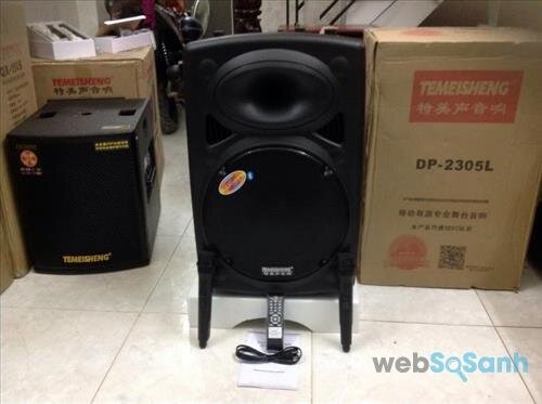 Loa vali kéo hát karaoke Temeisheng DP2305L 4 tấc