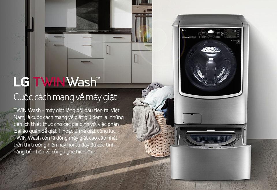 Máy giặt LG TWINWash