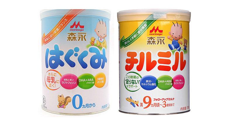 Sữa bột công thức Morinaga