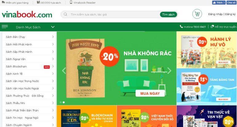 Top 11 địa chỉ mua sách Online rẻ nhất hiện nay | giamcanlamdep.com.vn