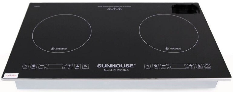 Vì sao bếp từ Sunhouse chạy nhưng không nóng?