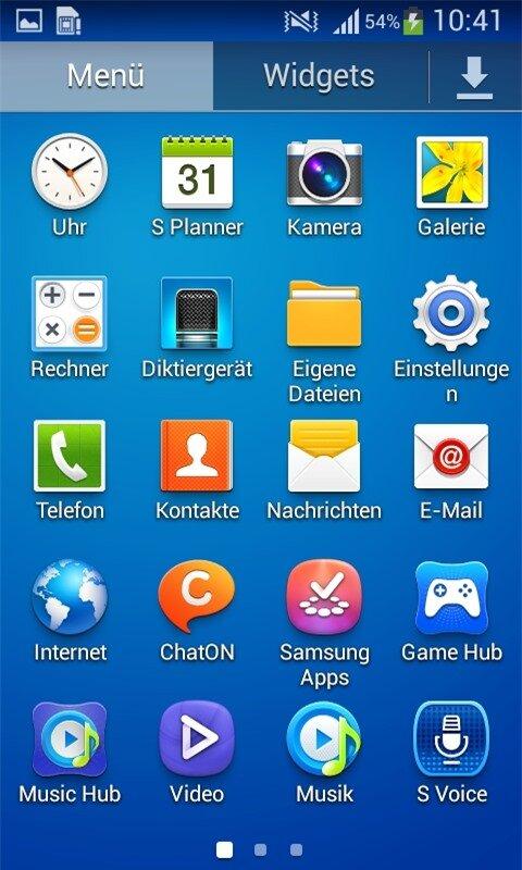Android 4.2.2 Jelly Bean với giao diện người dùng TouchWiz