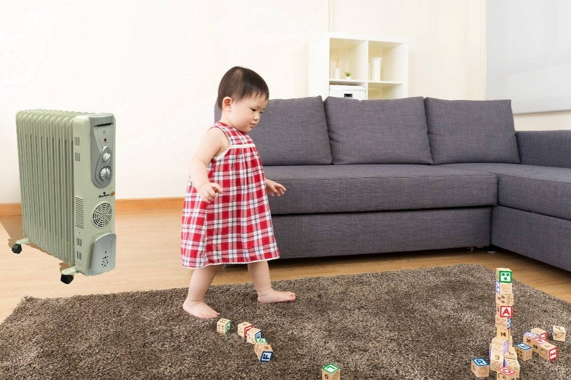 Máy sưởi giờ đây đã trở nên phổ biến trong các gia đình