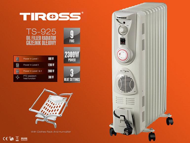 Máy sưởi dầu tiross ts9216