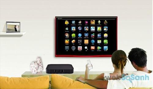 Đặt smart tivi box tại vị trí thoáng mát