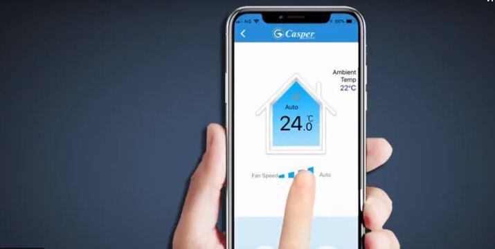 Điều hòa kết nối Wifi cho bạn điều khiển mọi lúc mọi nơi với một chiếc smartphone