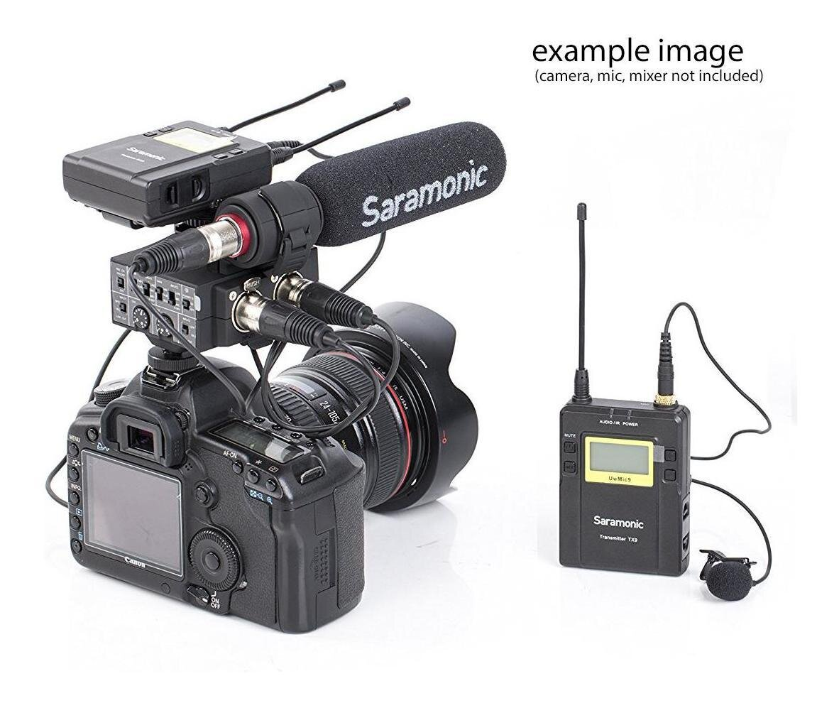 Micro thu âm Saramonic UVMIC10 được trang bị nhiều tính năng tốt