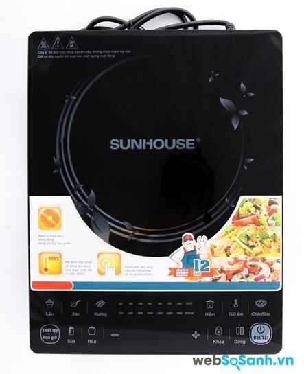 Bếp điện từ Sunhouse SHD6861