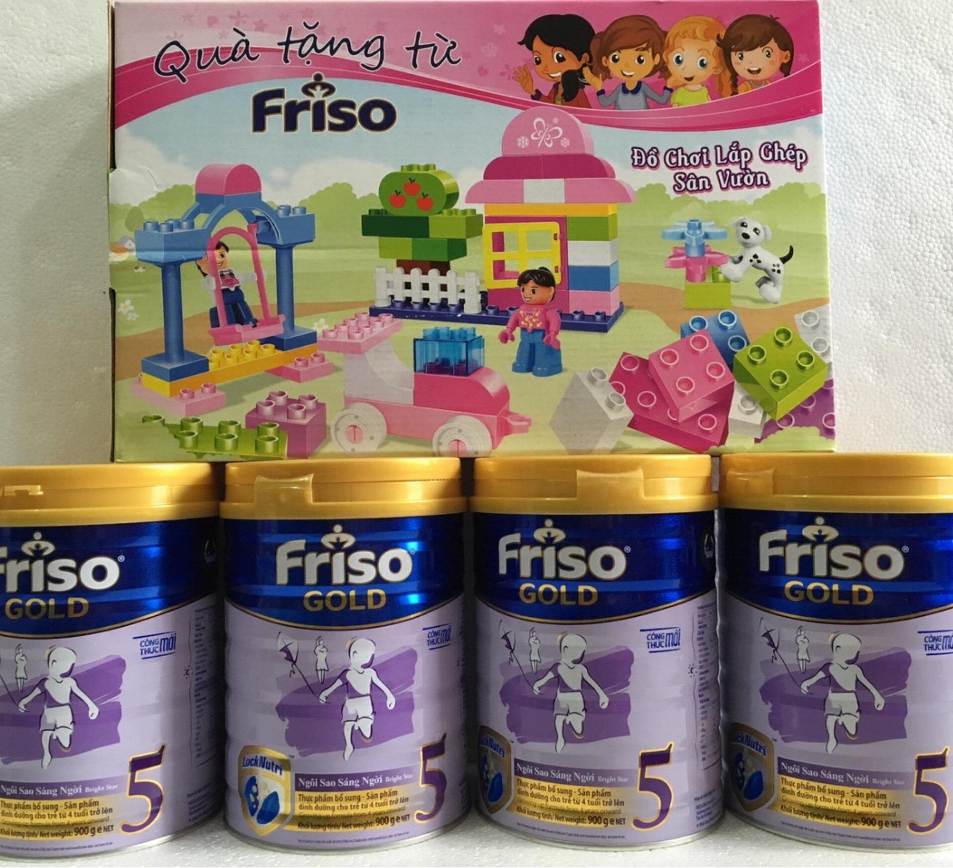 Sữa Friso Gold 5 giúp phát triển thể chất, trí tuệ vượt trội