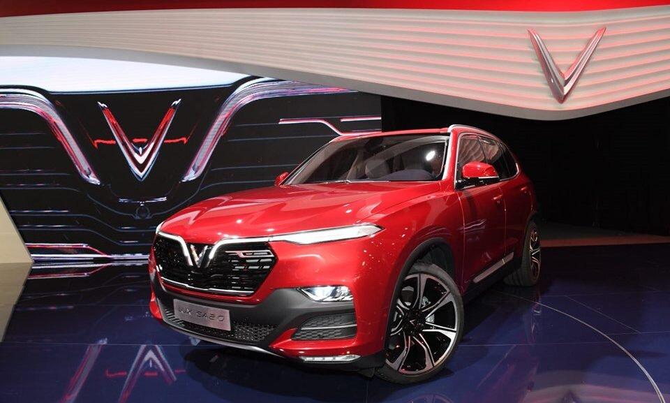 VinFast Lux SA2.0 là chiếc SUV hạng sang sở hữu diện mạo vô cùng ấn tượng và đẳng cấp hiện nay