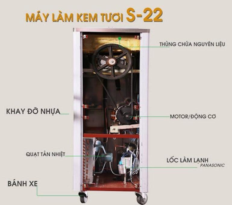 Máy làm kem Donper BQL S22-2 (1 Block)